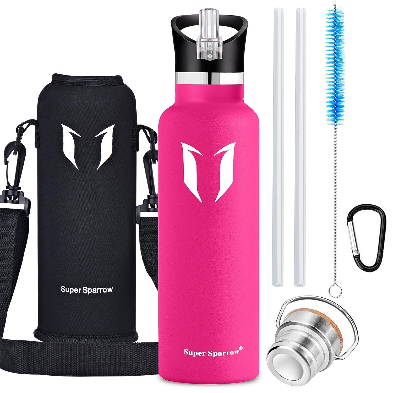 Super Sparrow Trinkflasche - 1000ml - Wasserflasche Doppelwandig ...