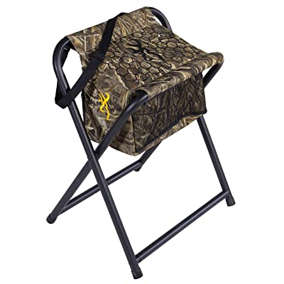 Browning Camping SteadyReadyHunting Stool : Cooler Chair : Sports & Outdoors