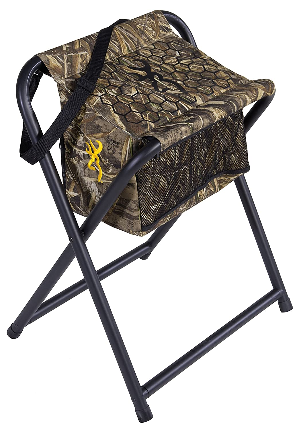 Amazon.com  Browning C&ing Steady Ready Hunting Stool  Cooler Chair  Sports u0026 Outdoors  sc 1 st  Amazon.com & Amazon.com : Browning Camping Steady Ready Hunting Stool : Cooler ... islam-shia.org