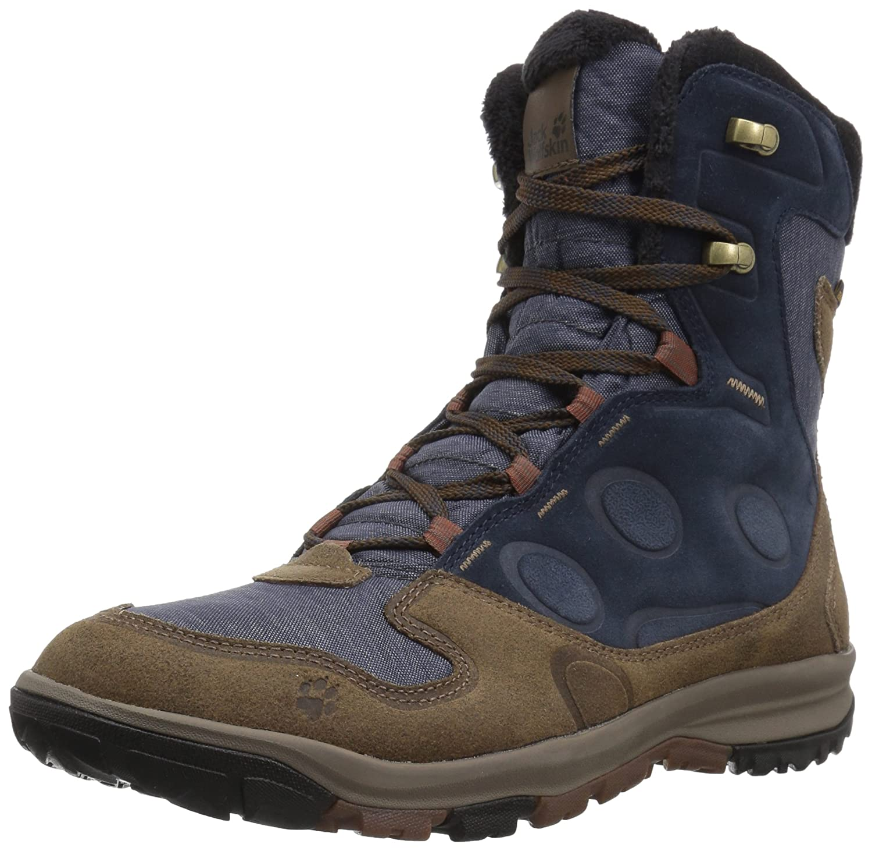 Jack Wolfskin Damen Vancouver Texapore High W Trekking-& Wanderstiefel, Grau (Dark Iron), 35.5 EU