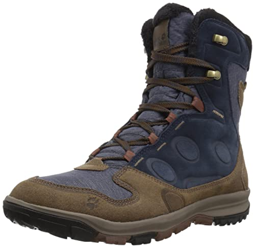 6613b3a9 Jack Wolfskin Men's Vancouver Texapore HIGH M Fashion Boot, Blue Brown, ...