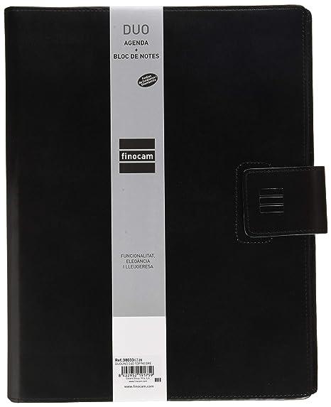 Amazon.com : Finocam - Agenda 2020 1 Day Page DuoUno Black ...