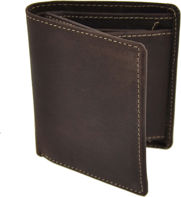 CUERO HOMBRE Compacta Camisa cartera de Woods Gran Valor Elegante Caja De Regalo - Marron: Amazon.es: Zapatos y complementos