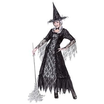 WIDMANN Desconocido Telarañas traje de bruja| talla L: Amazon.es ...