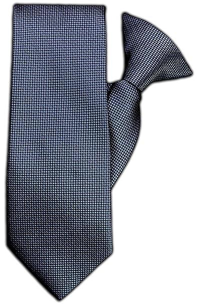 John Henry JH-1098 - Corbata con clip, diseño de cuadros, color ...