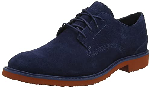Timberland Brook Park Light, Zapatos de Cordones Oxford para Hombre, Azul (Midnight Navy Hammer II 431), 43.5 EU