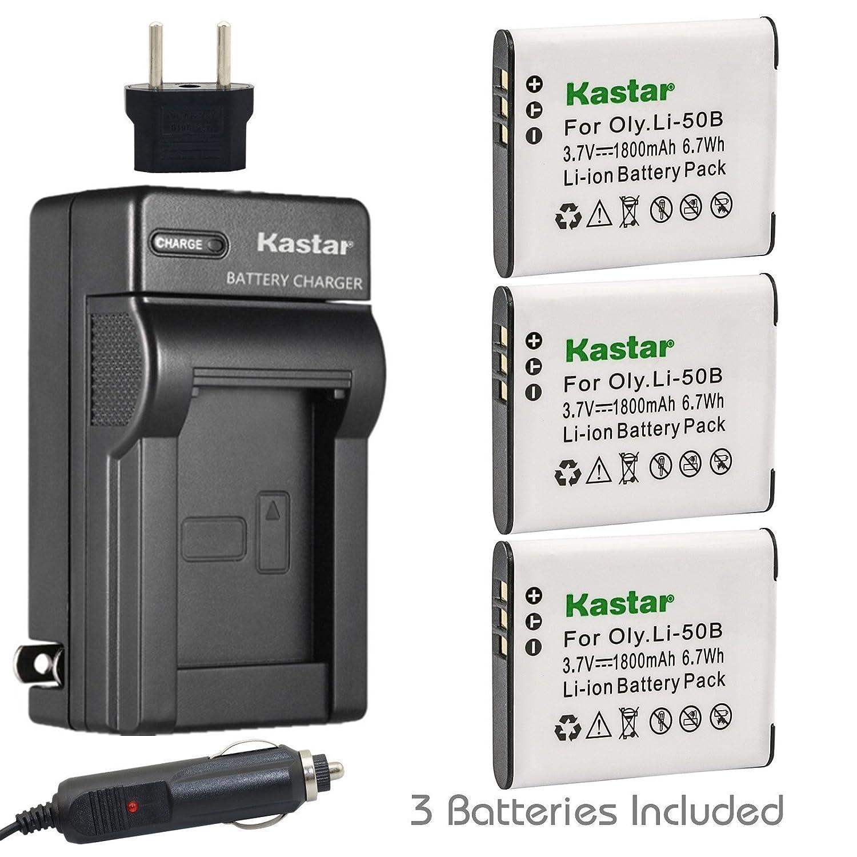 Kastar D-LI92 Cargador de batería para RICOH Pentax D-Li92 ...