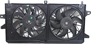 Radiator Fan Assembly for GRAND PRIX 04-08 LACROSSE 05-09 Dual Fan