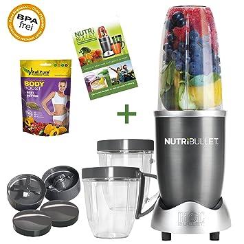 NUTRiBULLET Extraktor Juego completo incluye libro de recetas y 1 x Vital Pure Powerboost: Amazon.es: Hogar
