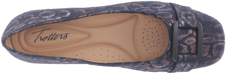 Trotters Women's Sizzle 11 Ballet Flat B019QUT4C4 11 Sizzle N US|Navy 6f30c3