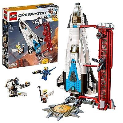 LEGO - Overwatch Observatorio: Gibraltar Set de construcción con Cohete Espacial de Juguete inspirado en el videojuego, Novedad 2019 (75975): Juguetes y juegos