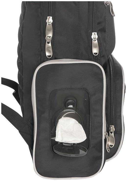 Graco Gotham Smart organizador sistema mochila bolsa de pañales, Negro/Gris: Amazon.es: Bebé