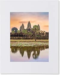 Matted photo print – Angkor Wat Reflecting Pond – Siem Reap, Cambodia – Wall Decor – 16x20 14x11 8x10