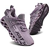 UMYOGO Women's Running Shoes Non Slip Athletic Tennis Walking Blade Type Sneakers