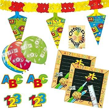 2 Geburtstag 2 Jahre Dekoset Girlande Konfetti Luftballons