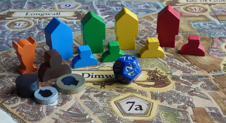 Terry Pratchett Iello Discworld Ankh Morpork - Juego de Mesa (en inglés): Terry Pratchett Ankh Morpork Discworld Board Game: Amazon.es: Juguetes y juegos