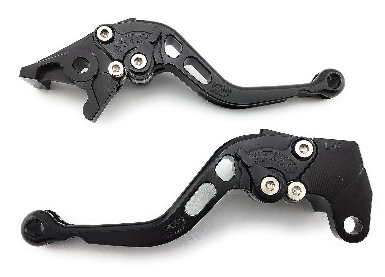 Paar kurze aus eloxiertem Aluminium Hebel fü r Yamaha XT600/TT600 & tt-re 2000 2001 2002 2003 2004 2005 IMP