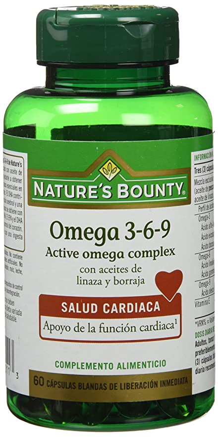 NATURE´S BOUNTY - OMEGA 369 60perl NAT. BOUMTY