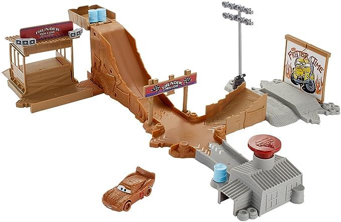 Mattel FLG70 Cars Pista tractores chiflados pista de coches de juguete