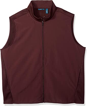 Perry Ellis Mens Stretch Fleece Vest