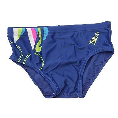 52e552e545 Clearance Speedo Childrens Patterned Swim Wear Briefs (6-7 Year (24inch))
