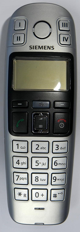 Gigaset Zusatzmobilteil E36h Ohne Ladeschale Schwarz Silber Nur Für Gigaset E360 E365 Zum Ersatz Erweiterung Elektronik