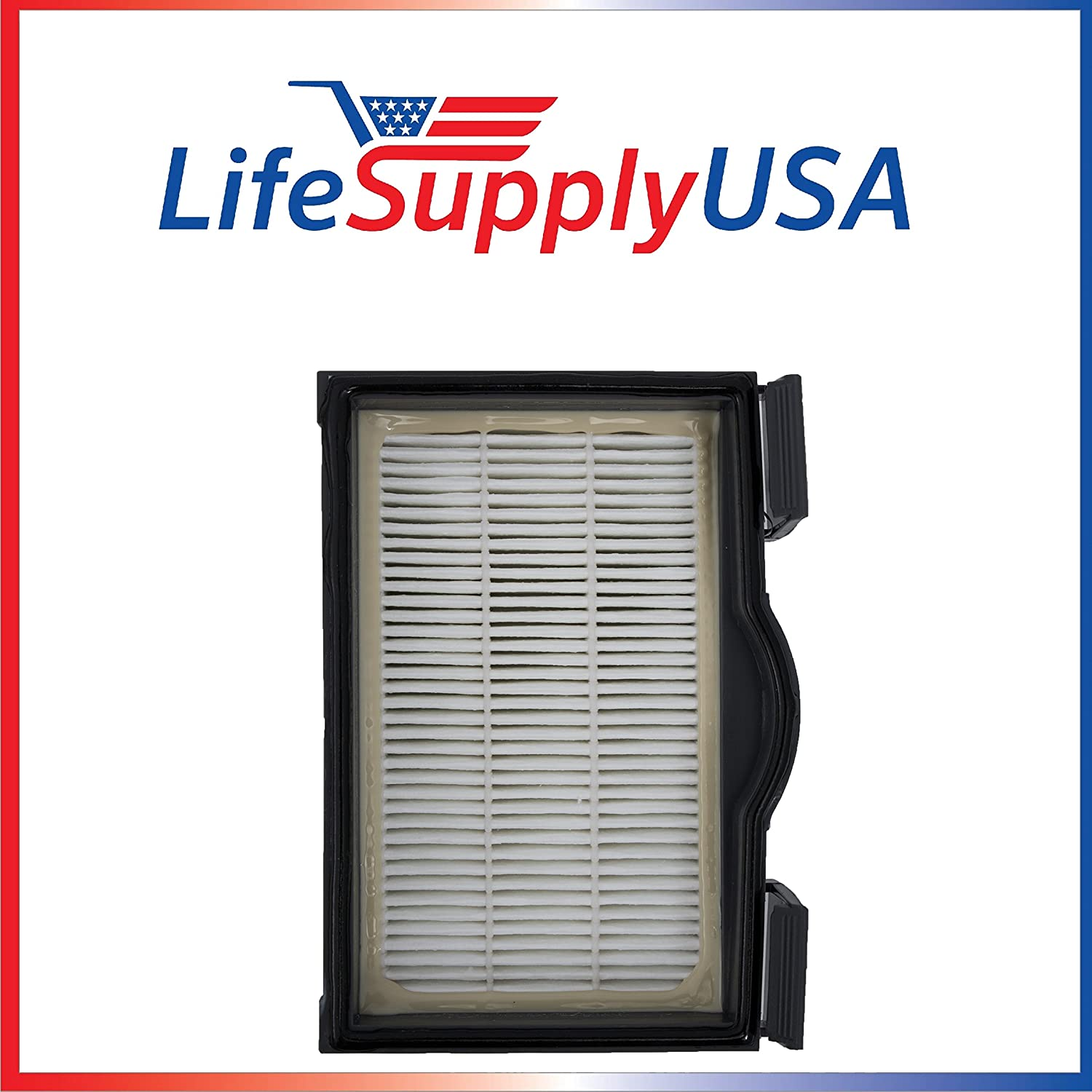LifeSupplyUSA HEPA Filter for Electrolux Eureka HF8 MM Mighty Mite Banister Models