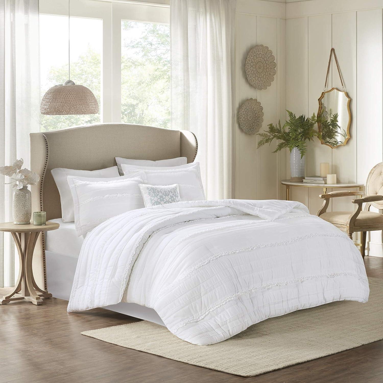 Amazon.com: Madison Park Comforter Set Textured Luxury Design All