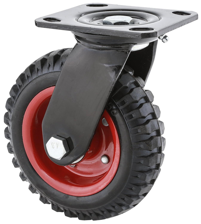 B0000DD1D1 Steelex D2580 Swivel Heavy Duty Industrial Wheel, 6-1/4-Inch 81O1BaZJ8YL