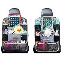Auto Organizer Car Seat Organizer - SURDOCA 4e generatie verbeterde auto organizer achterbank voor maximaal 10,5 iPad, 9…