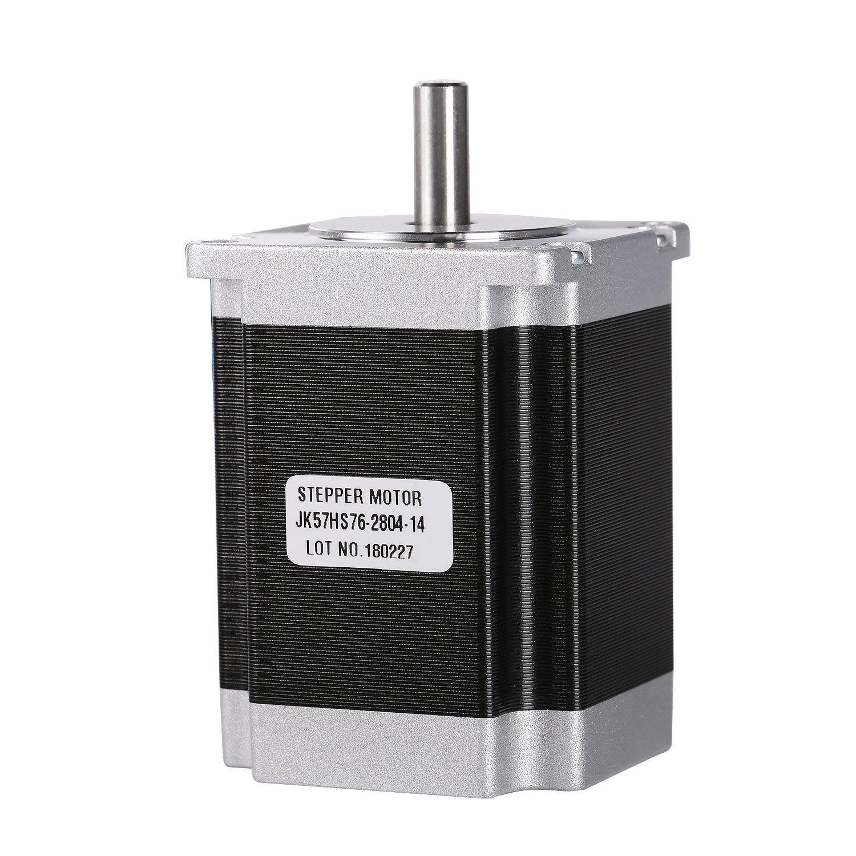 SainSmart Nema23 2 Phase 4-Leads 18.9Kgcm 76mm CNC Stepper Motor (Shaft Diameter 8mm)