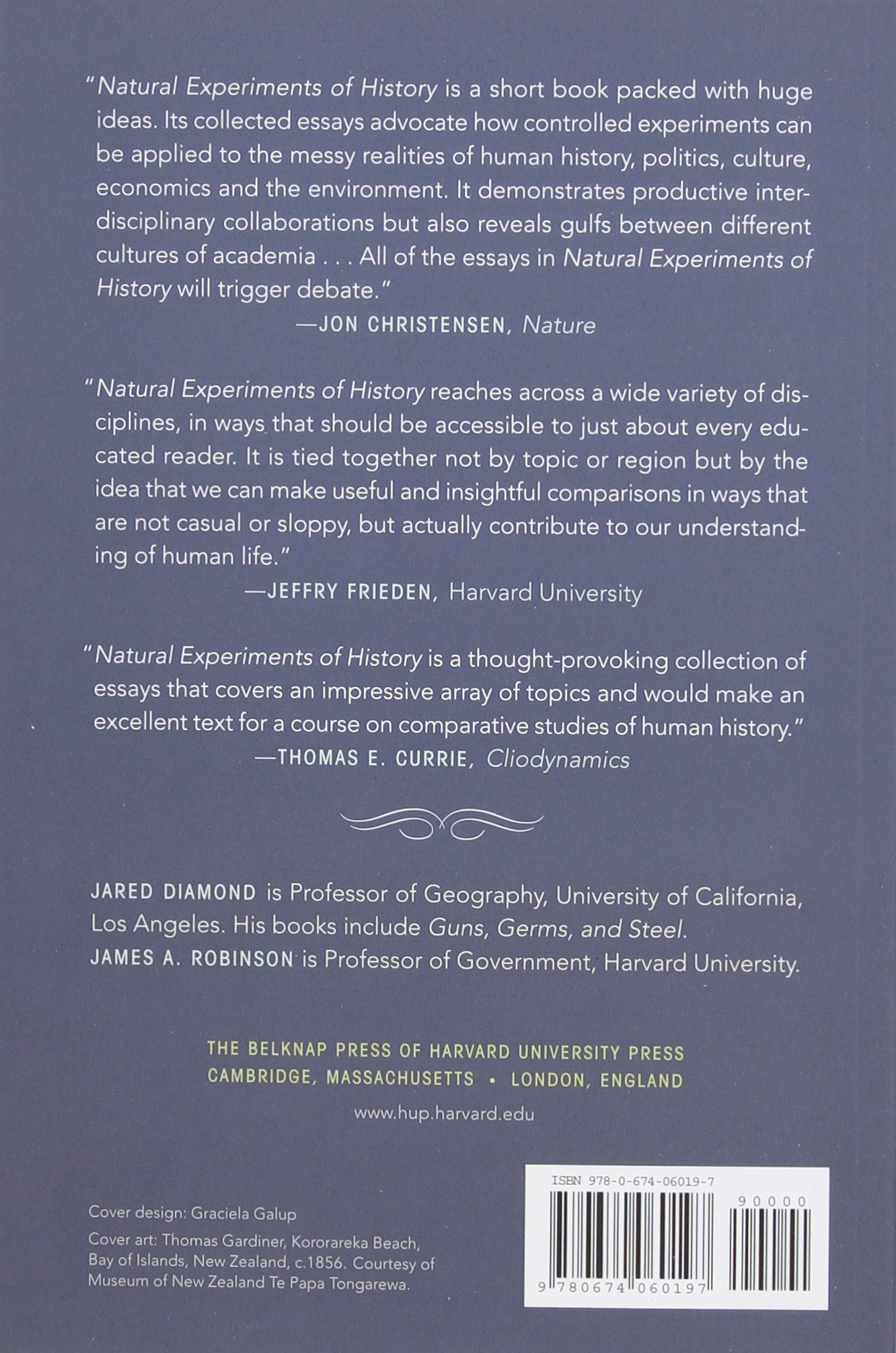 natural experiments of history jared diamond james a robinson natural experiments of history jared diamond james a robinson 9780674060197 com books