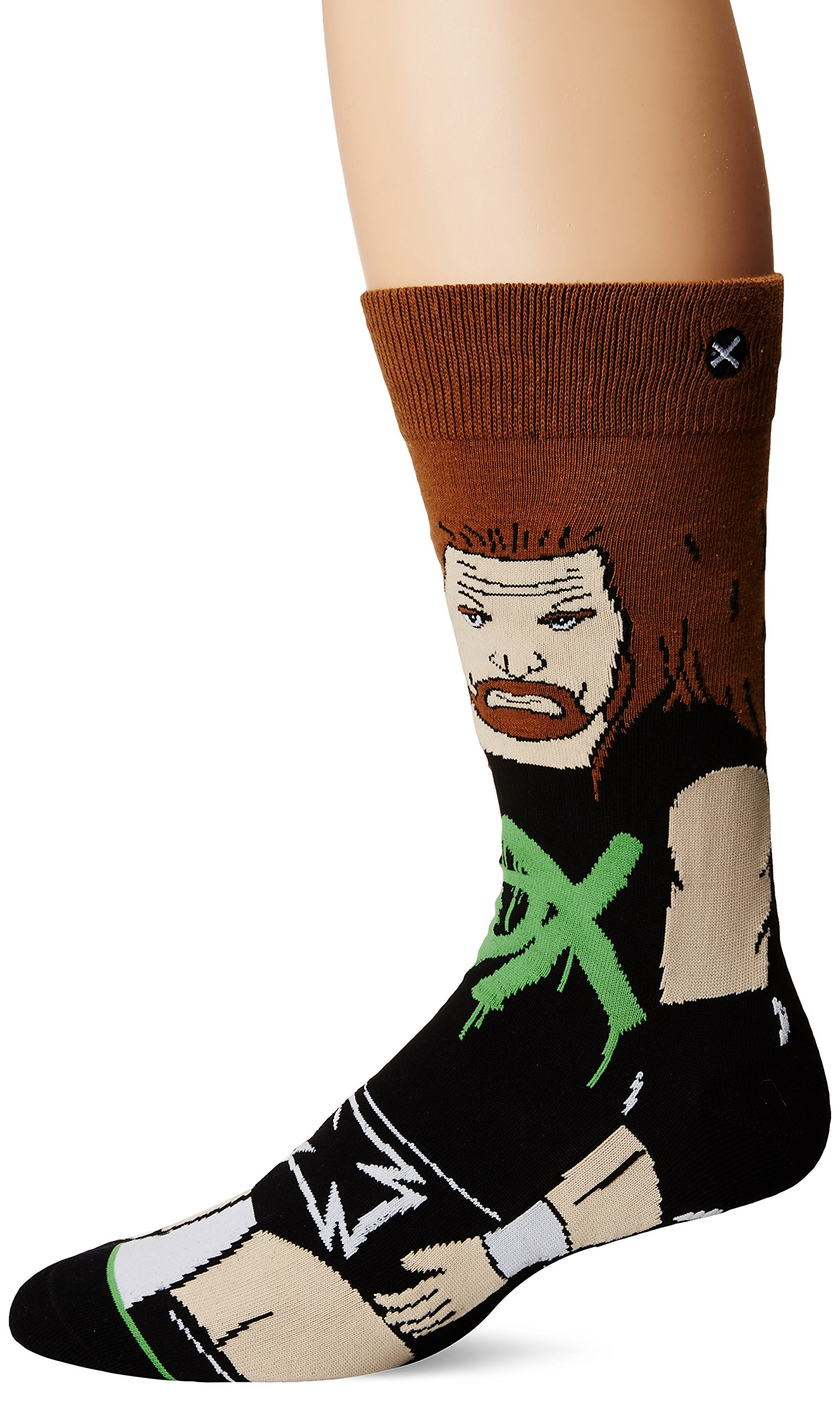 Odd Sox Men's Degeneration X (360 Knit), Multi, Sock Size:10-13/Shoe Size: 6-12
