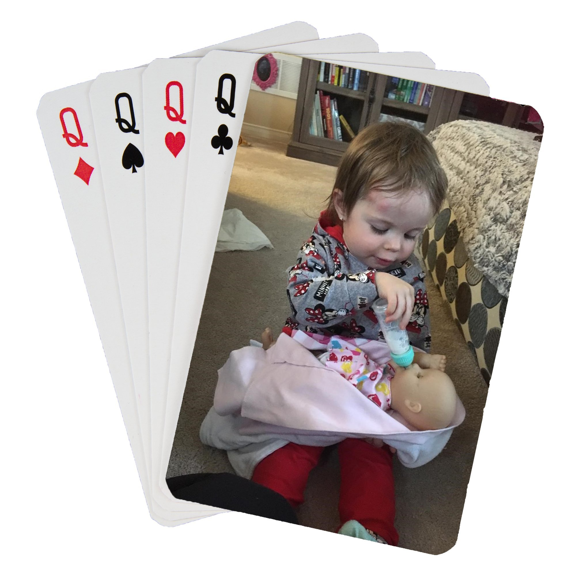 Custom Printed Playing Cards (1 Poker Size Deck)
