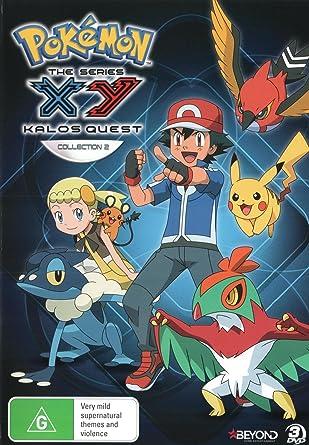 Amazon.com: Pokemon - XY Kalos Quest - Season 18 Collection ...