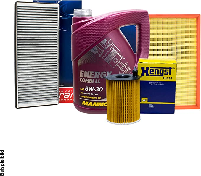 Topran Hengst Filter Set Inspektionspaket 5l Mannol 5w 30 Auto