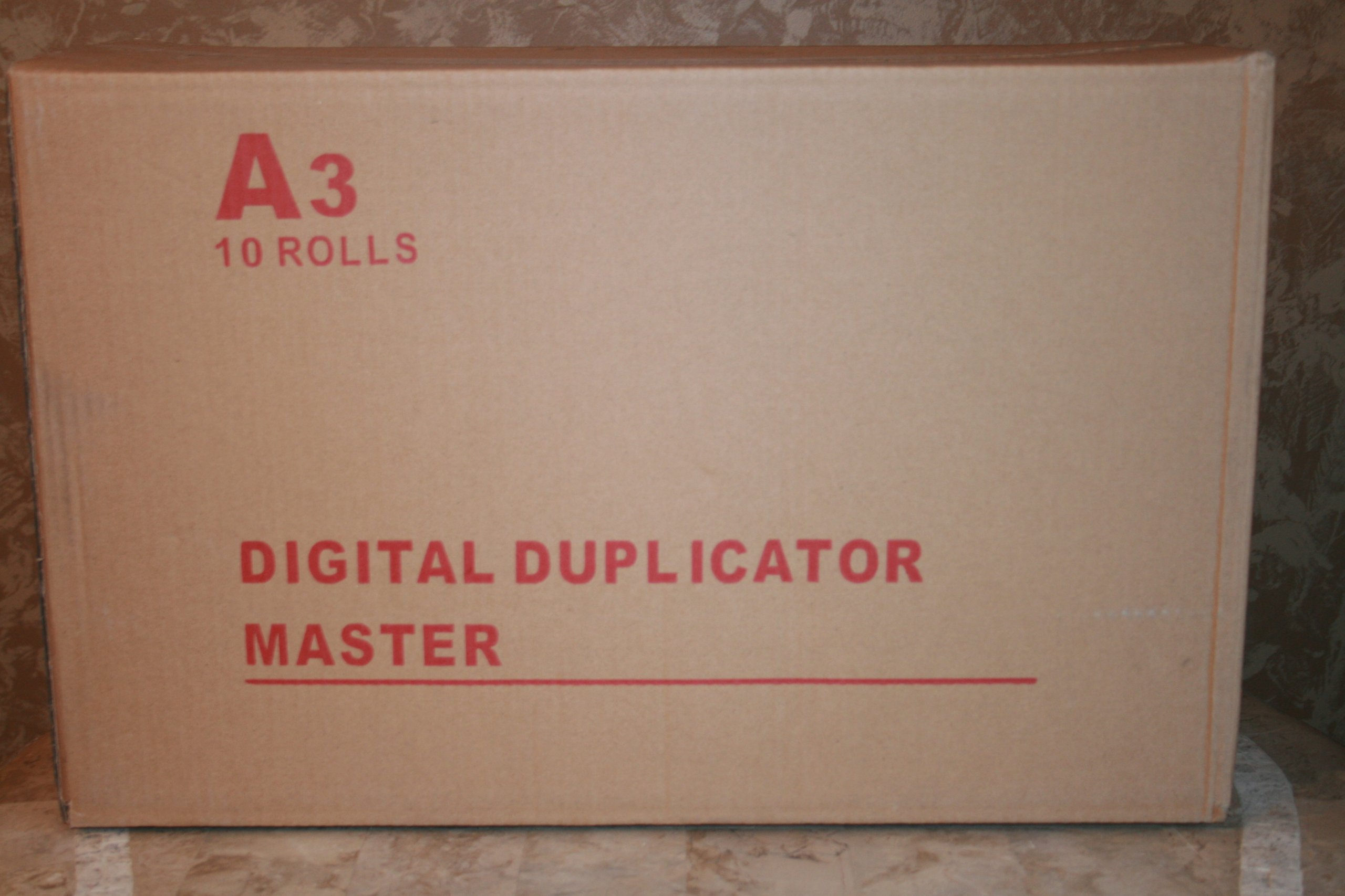 10 Ricoh JP-50, Part # 893015, Savin Part # 4555, Type 350, Gestetner CPMT13, Lanier LDD150, Standard Part # 3322 Compatible Master Rolls. by Ricoh / Savn / Gestetner Compatible (Image #2)