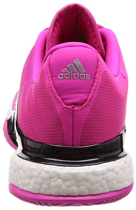 Amazon.com | adidas Barricade 2018 Boost Menâ€s Tennis Shoes, Pink ...
