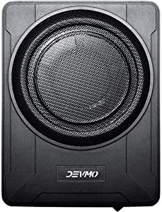 """Devmo GELF 8"""" Compact Enclosed Powered Enclosed Subwoofer for CAR Under seat"""