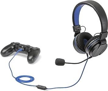 Snakebyte Head:Set 4 Binaural Diadema Negro, Azul - Auriculares ...