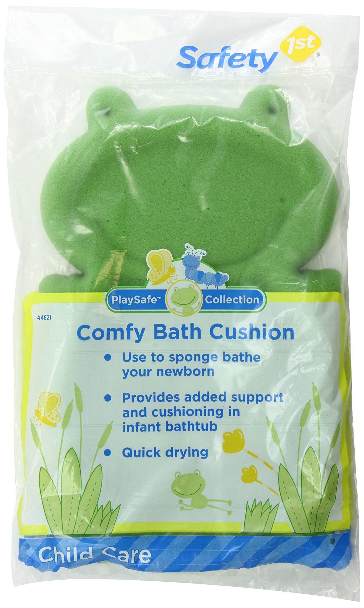 Safety 1st Comfy Bath Cushion, Green