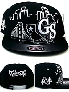 cf93fa7cff8ac Leader of the Game Golden State New GS Skyline 3 Bridge Warriors Colors  Black White Era