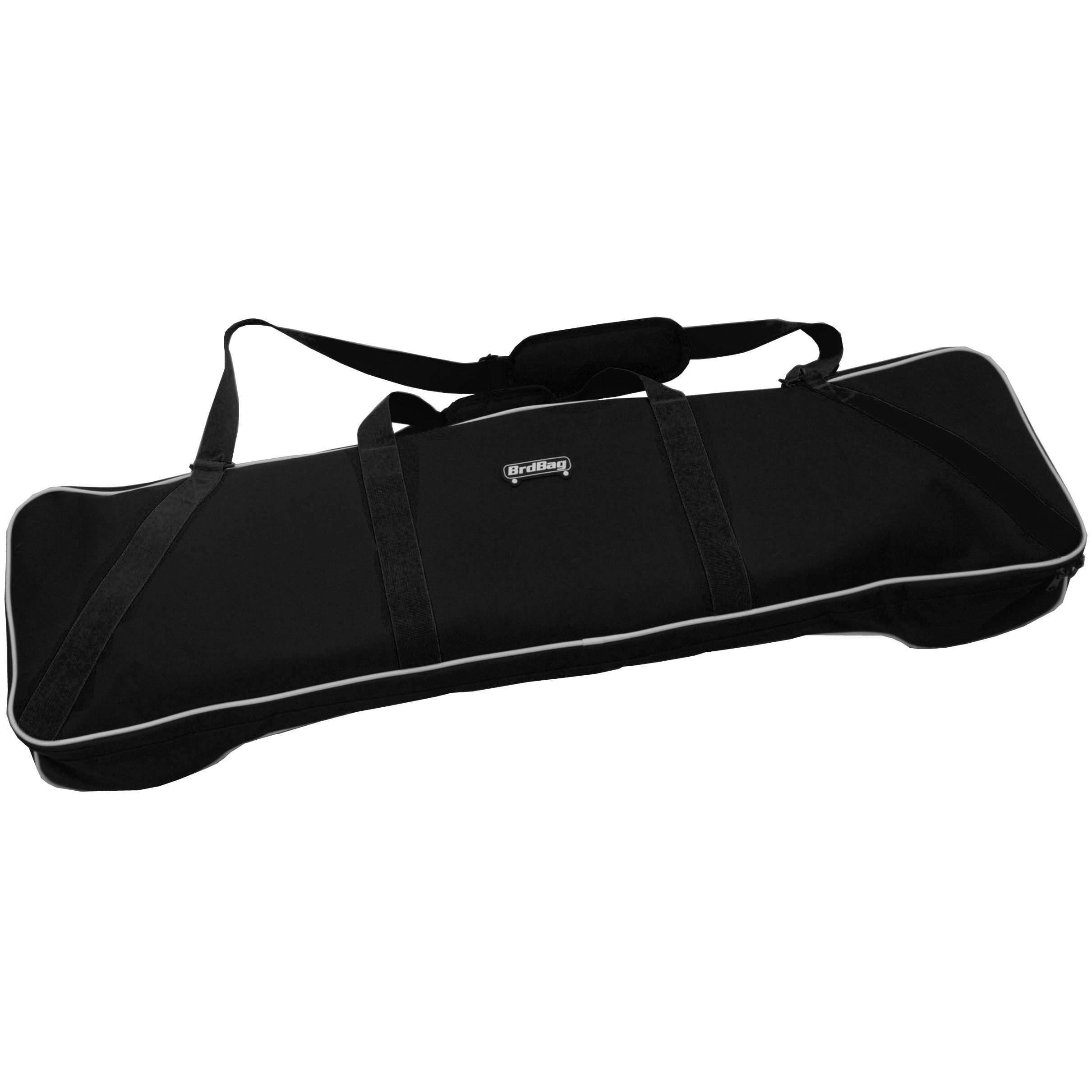 Hubro Designs BrdBag Boosted Board Bag, Black (with carry handle and shoulder strap) by Hubro Designs