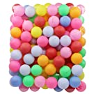 TADICK Beer Ping Pong Balls Plastic Multiple Color Table Tennis Ball (100 Pack)
