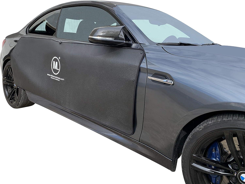 Ml Innovaciones A 1 Autotürschutz Entfernbarer Magnetischer Autotürenschutzstreifen Effektiver Schutz Der Autotür Vor Dellen Und Beulen Die Beim Parken Entstehen Auto
