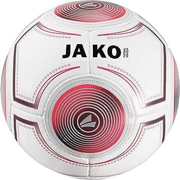 Jako Futsal Balón de fútbol, Color Blanco/Antracita/Flame, 4 ...