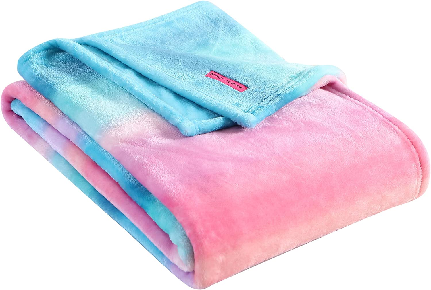 Betsey Johnson   Plush Collection Throw Blanket, Ombre,USHSHF1168556