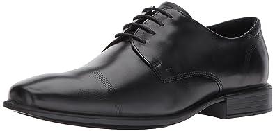 d8090a8258 ECCO Men's Cairo Cap Toe Tie Oxford, Black Smooth, 45 EU / 11-