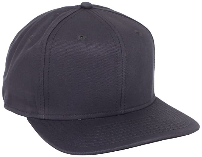 d9ee0dfff6165c Dickies Men's Solid Snapback Hat, Charcoal One Size at Amazon Men's  Clothing store: Baseball Caps