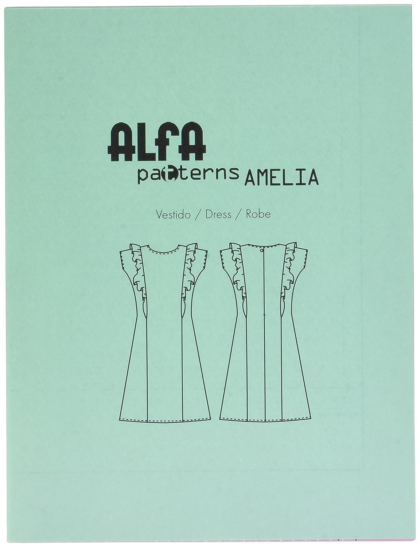 Alfa Teresa - Patrón de Costura, con Instrucciones para elaborar una Elegante Capa: Amazon.es: Hogar